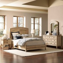 Cimarron Arched Seagrass Bedroom Set
