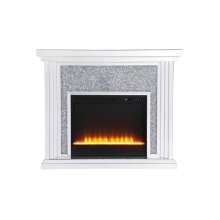 Dressed in a galaxy of dazzling silver crystals and accentuated with gleaming mirror panels, this fireplace is never one to shy away from the spotlight. Whether you are hosting a formal dinner party with associates or a casual get together with your loved ones, the comfort of the crackling fire in the crystal insert will […]