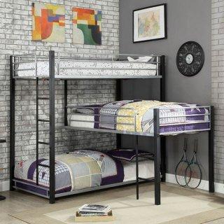 Aubrey Twin Triple Decker Bed