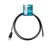 Smart Choice 6' 15-Amp. 3-Prong Dishwasher Power Cord, Straight Product Image