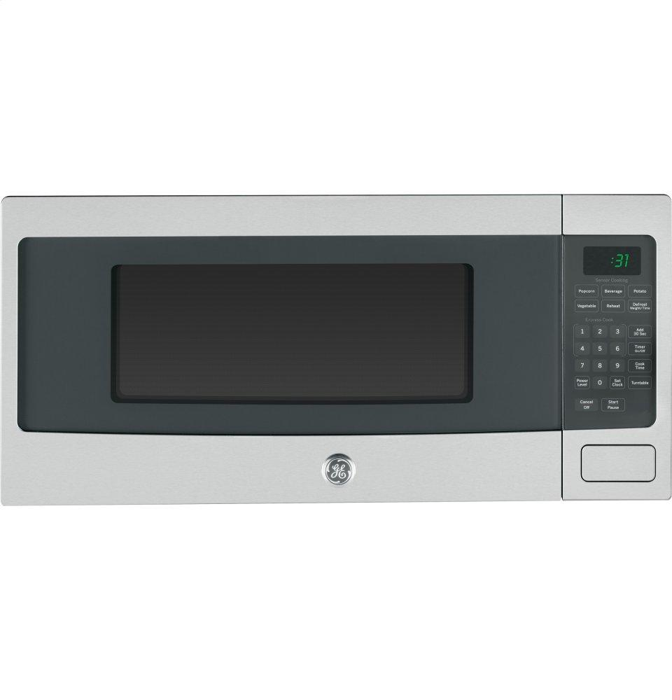 Ge Profile Series 1 Cu Ft Countertop Microwave Oven