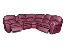 Oakland-Sect-Lth England Living Room Oakland Leather Sectional 7200L-Sect
