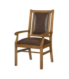 Leather Arm Chair-Import