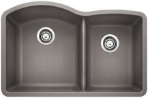 Blanco Diamond 1-3/4 Bowl - Metallic Gray