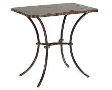 Stock Metal Lulu Metal Side Table