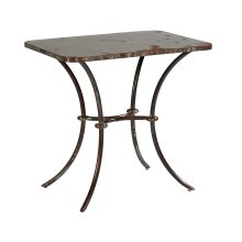 Stock Metal Lulu Metal Side Table