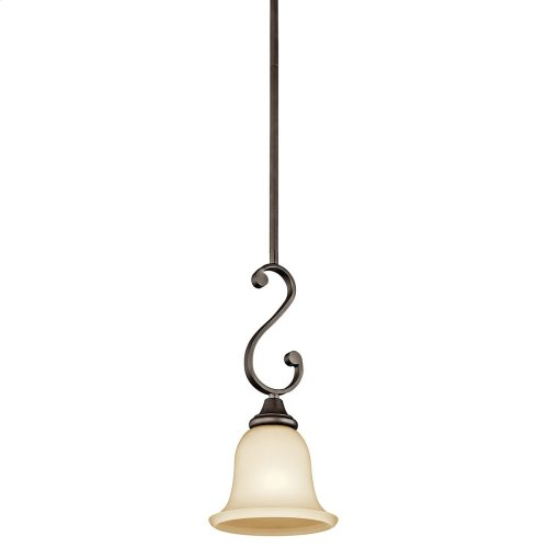 Monroe 1 Light Mini Pendant Olde Bronze®