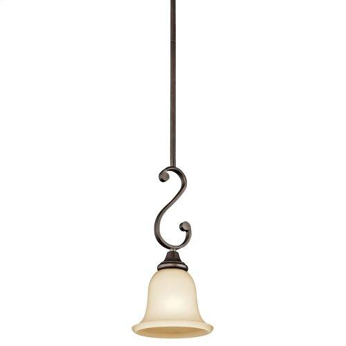 Monroe 1 Light Mini Pendant with LED Bulb Olde Bronze®