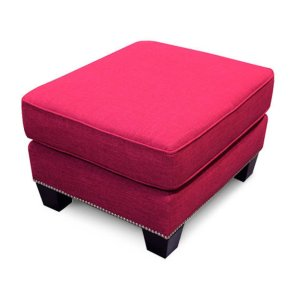 England Furniture Yonts Ottoman With Nails 2y07n