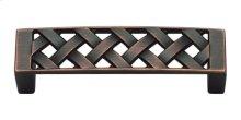 Lattice Pull 3 Inch (c-c) - Venetian Bronze