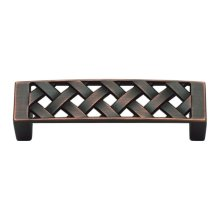 Lattice Pull 3 Inch (c-c) - Venetian Bronze