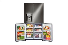 LG Black Stainless Steel Series 23 cu. ft. 4-Door Counter-Depth Refrigerator with Door-in-Door®