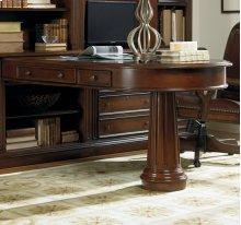 European Renaissance II Peninsula Desk Complete
