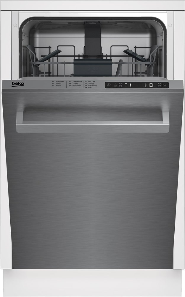 ba69d2c45ab DDS25841X Beko 18 Slim, Top Control Dishwasher STAINLESS STEEL ...