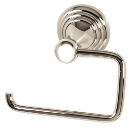 Embassy Single Post Tissue Holder A9066 - Polished Nickel
