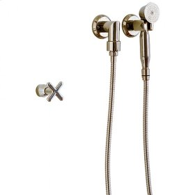 Wall Hand Shower Silicon Bronze Medium