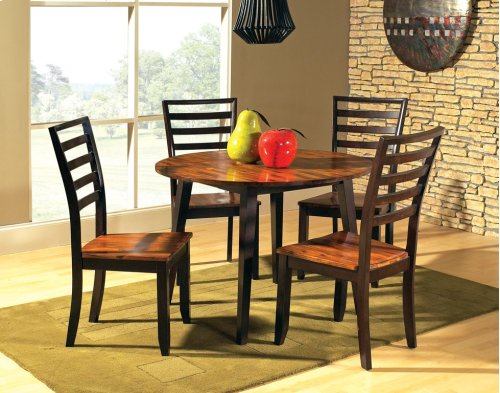 "Abaco Double Drop Leaf Table 42"" Round"