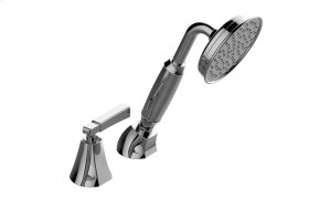 Finezza DUE Deck-Mounted Handshower & Diverter Set