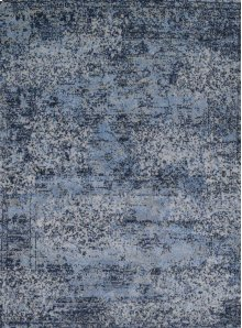 Lt. Blue / Grey Rug