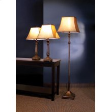Traditional Brown Lamp
