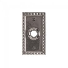 Corbel Rectangular Escutcheon - E30703 Silicon Bronze Brushed