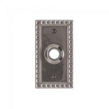 Corbel Rectangular Escutcheon - E30703 Silicon Bronze Brushed