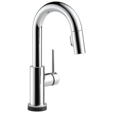 Chrome Single Handle Pull-Down Bar / Prep Faucet with Touch 2 O ® Technology