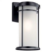 "Toman 20"" 1 Light Wall Light Black"