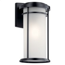 "Toman 20"" 1 Light Wall Light Black"