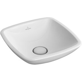 Surface-mounted washbasin (square) Angular - Pergamon CeramicPlus