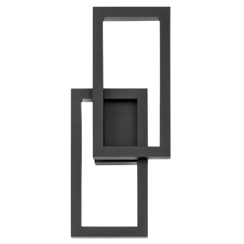 Rettangolo Collection Rettangolo 1 Light LED Outdoor Wall Lantern PL