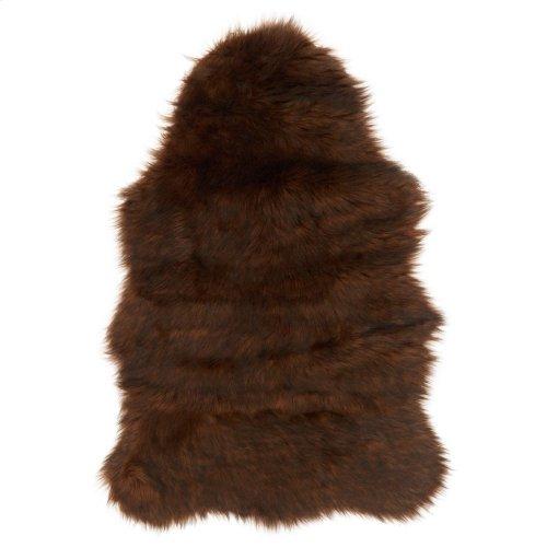 Brown / Black Rug