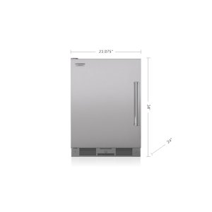 "Subzero24"" Outdoor Undercounter Refrigerator - Stainless Door"