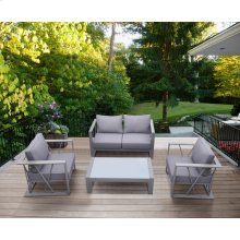 St Bars 4 Piece Outdoor Patio Aluminum Set