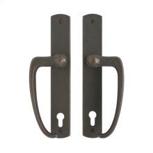 """Curved Entry Sliding Door Set - 1 3/4"""" x 11"""" Silicon Bronze Dark"""