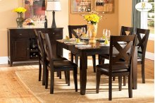 5pc Set (Table with 4 Chairs)