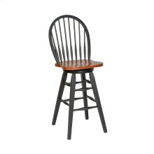 "ST.MICHAEL 30"" Hardwood Swivel Barstool"