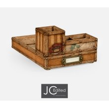 Travel Trunk Style Desk Organiser