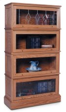 Barrister Bookcase, Barrister Bookcase, 4-Stack Product Image