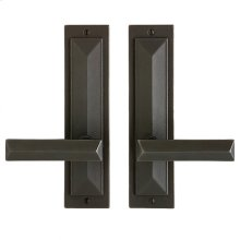 "Mack Passage Set - 2 1/2"" x 10"" Silicon Bronze Brushed"
