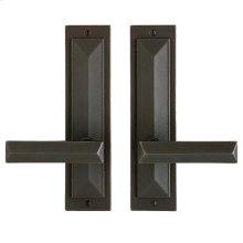 """Mack Passage Set - 2 1/2"""" x 10"""" Silicon Bronze Brushed"""