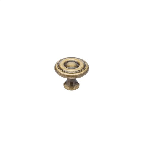 "1 1/2"" Knob - Antique Brass"