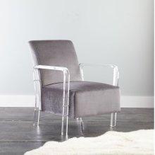 "Tyra Arm Chair, Ivory 32'x27'x35"""