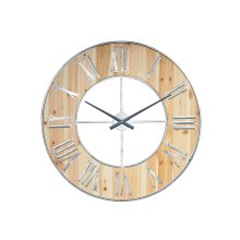 White Henry Wall Clock