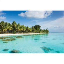 Bahama Blues Outdoor Canvas Art