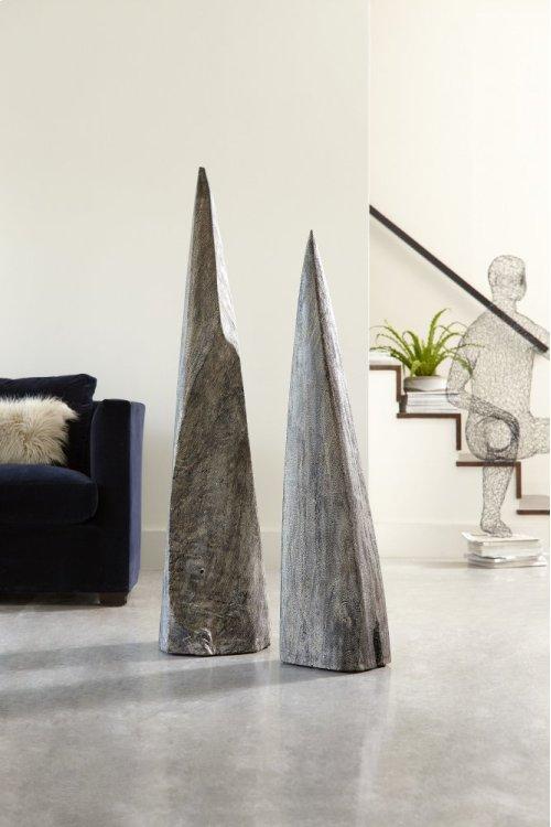 Shark Tooth Sculpture, Grey Stone, SM