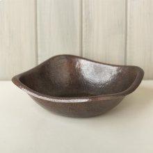 Antique Copper Large Monterey Copper Bowl