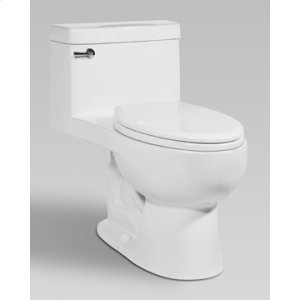 Black RIOSE One-Piece Toilet 1.28gpf, Elongated