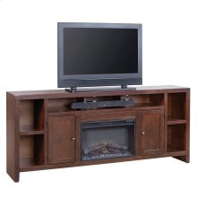 "84"" Fireplace Console"