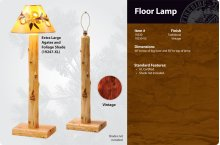 Lamp Shade (assorted hand-made with cedar & leaves)